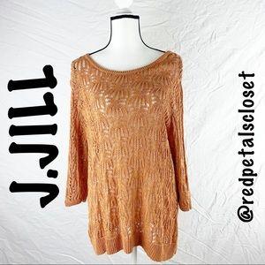 J.JILL | Tan Tweed Sweaters